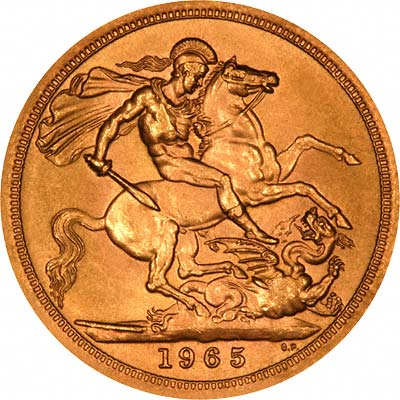 1965 Half Sovereigns Do Not Exist