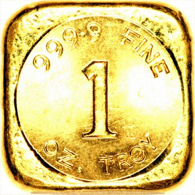 One Ounce Gold Bar