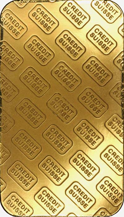 Valcambi Suisse 1 Ounce Gold Bar