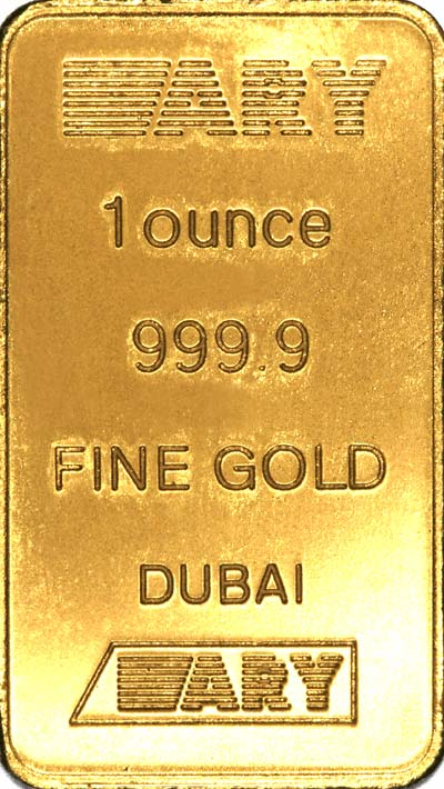 ARY One Ounce Gold Bar
