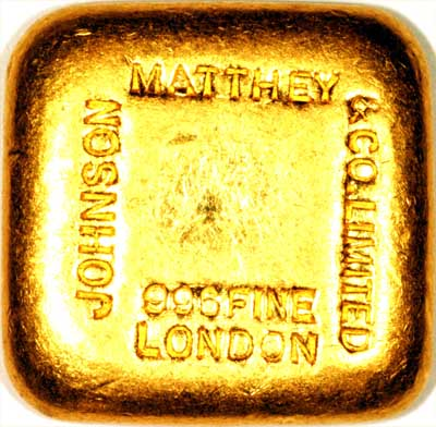 gold. Johnson Matthey 100 Gram Gold